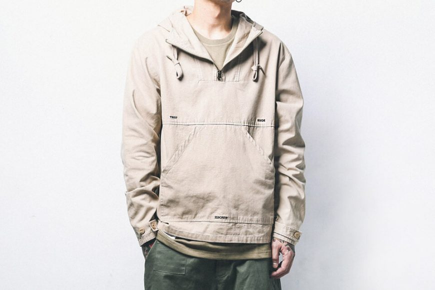 B-SIDE 18 AW Utility Pullover JKT (9)