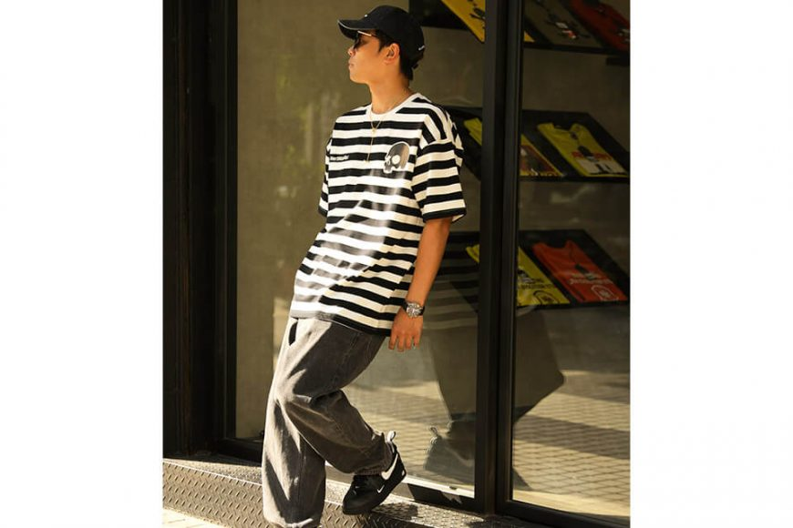 NextMobRiot 106(六)發售 18 SS NMR15th x AES Stripe Oversize Tee (2)