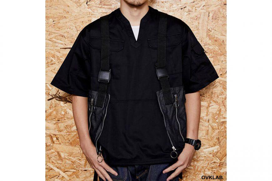 OVKLAB 1024(三)發售 18 SS Waterproof Denim Army Vest (1)