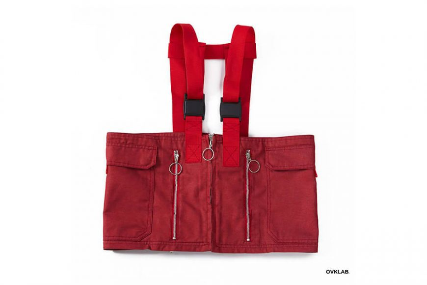 OVKLAB 1024(三)發售 18 SS Waterproof Denim Army Vest (11)