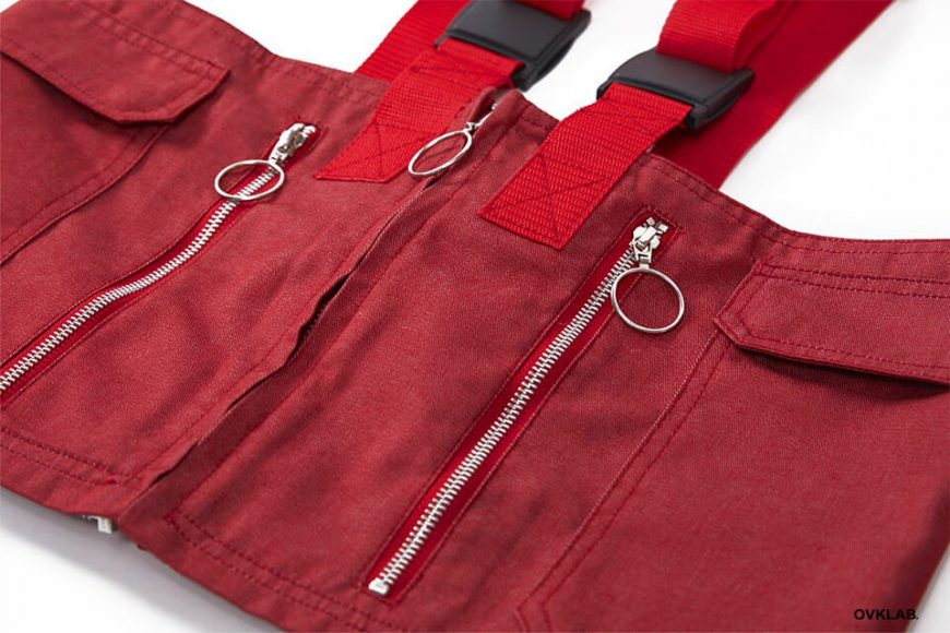 OVKLAB 1024(三)發售 18 SS Waterproof Denim Army Vest (13)