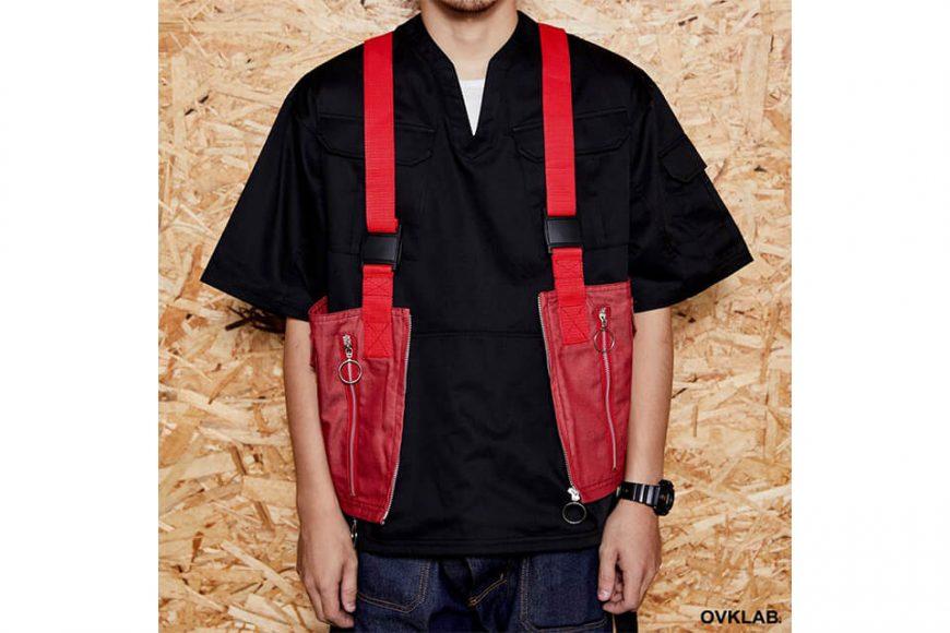 OVKLAB 1024(三)發售 18 SS Waterproof Denim Army Vest (8)