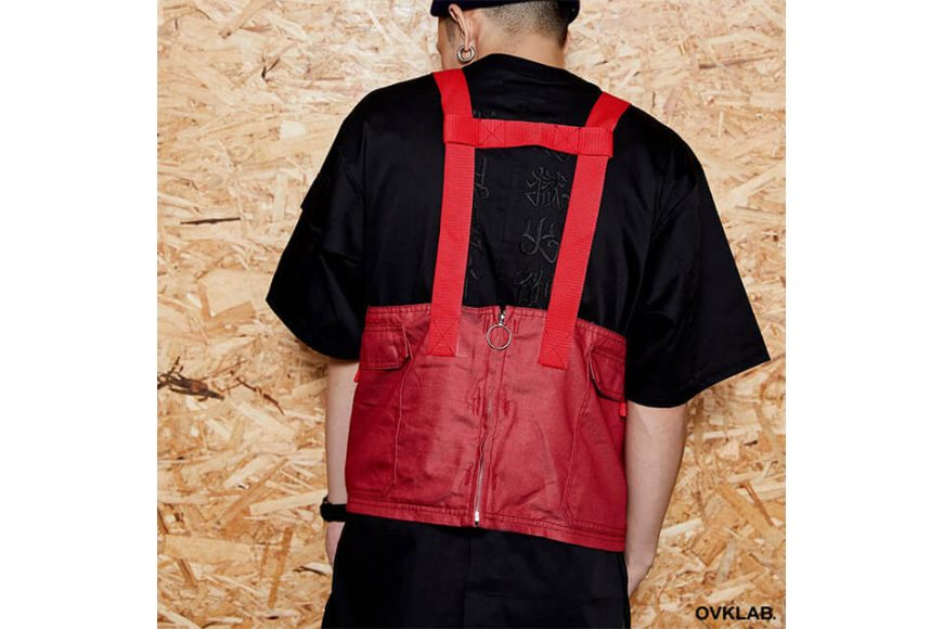 OVKLAB 1024(三)發售 18 SS Waterproof Denim Army Vest (9)