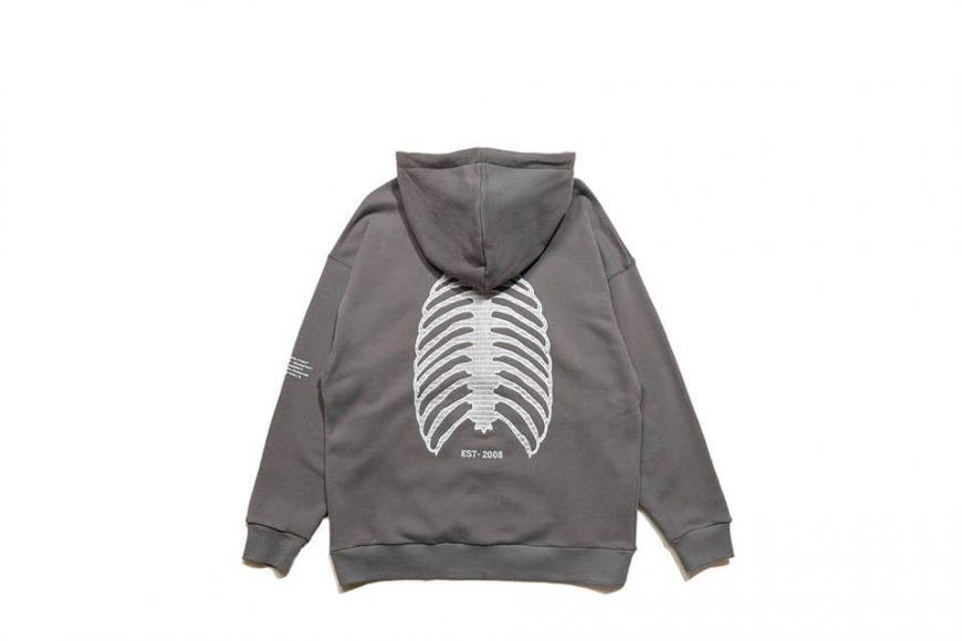 AES 1110(六)發售 18 AW Aes Doule Skull Logo Zip Hoodie (8)
