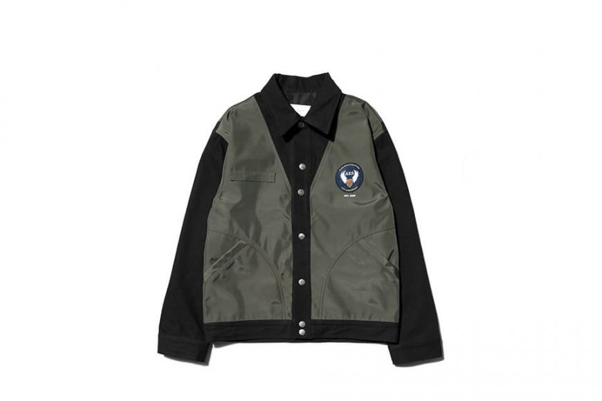 AES 1110(六)發售 18 AW Aes Military Stttched Denim Jacket (3)