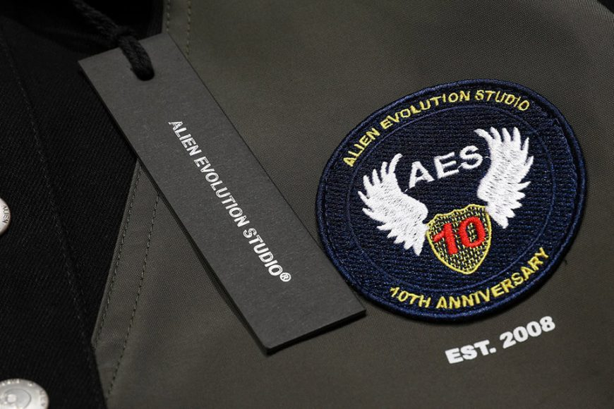 AES 1110(六)發售 18 AW Aes Military Stttched Denim Jacket (5)