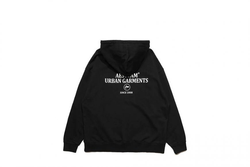 AES 1110(六)發售 18 AW Aes Washed Skull Logo Hoodie (3)