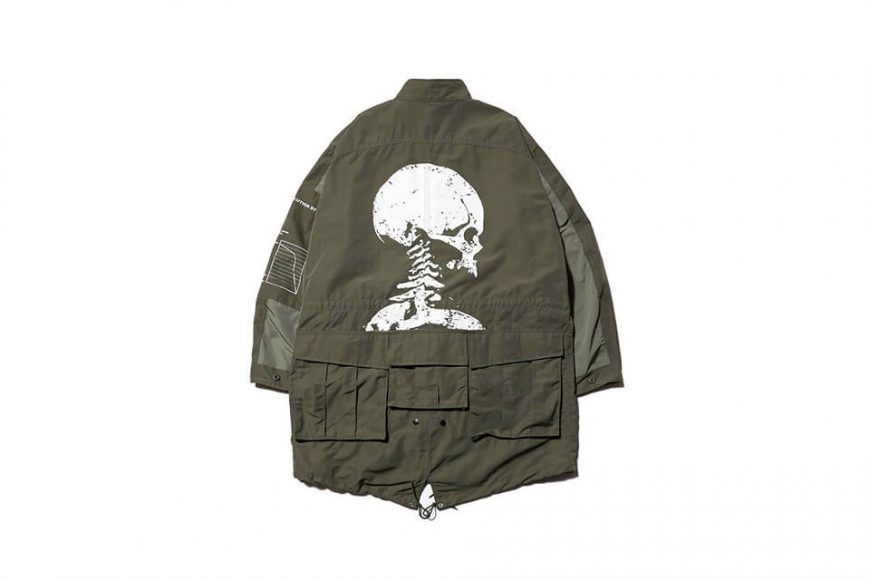 AES 1117(六)發售 18 AW Aes Skeleton M65 Parka (7)