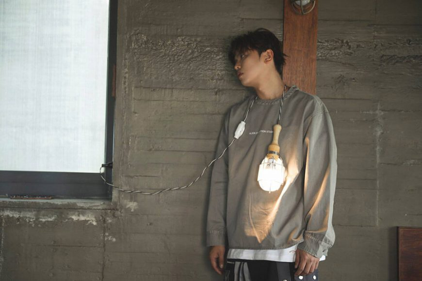 AES 113(六)發售 18 AW Military Smock Shirt (1)