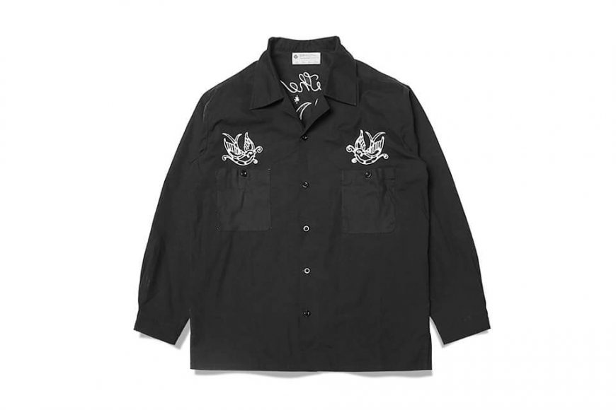 B-SIDE 1128(三)發售 18 AW Old Swallow Shirts (7)