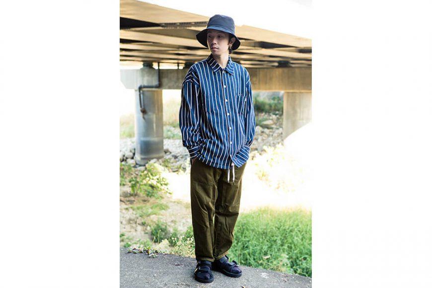 NextMobRiot 1128(三)發售 18 AW Stripe OVS Shirt (1)