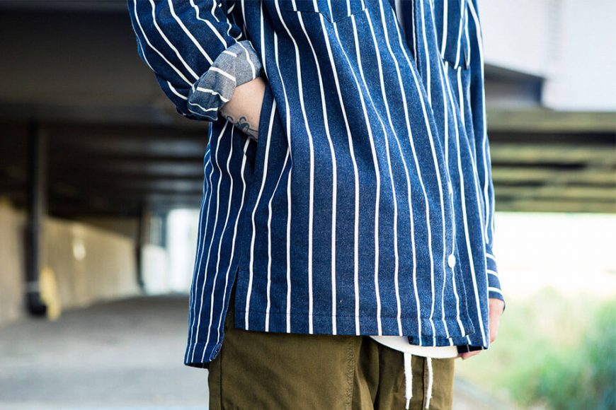 NextMobRiot 1128(三)發售 18 AW Stripe OVS Shirt (3)