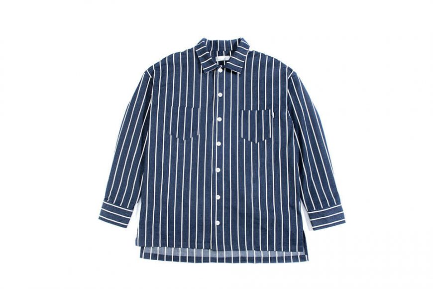 NextMobRiot 1128(三)發售 18 AW Stripe OVS Shirt (4)