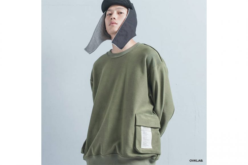 OVKLAB 1130(五)發售 18 AW Revolt Sweatshirt (6)