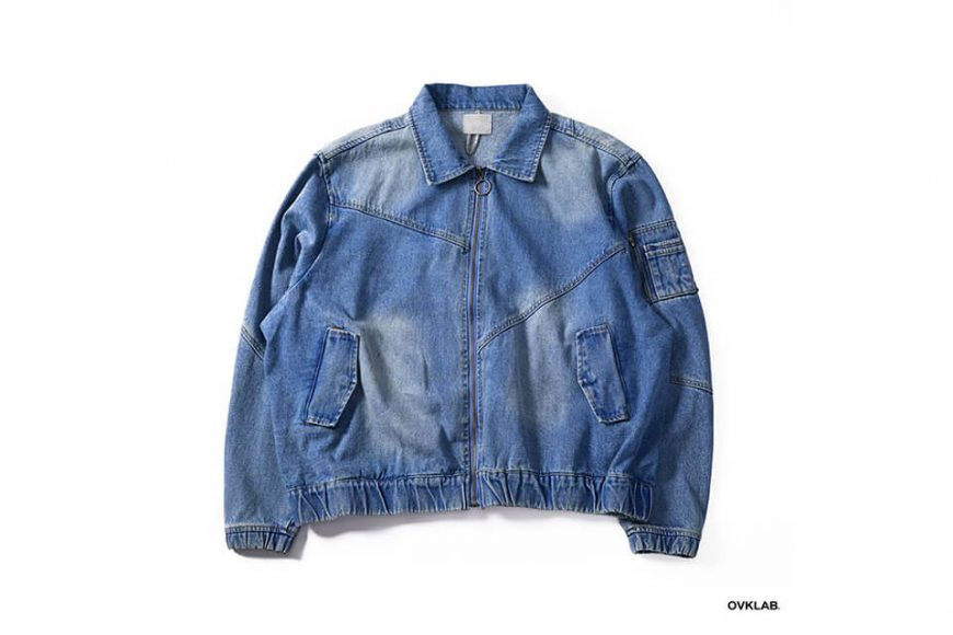 OVKLAB 18 AW Denim Flight Jacket (10)