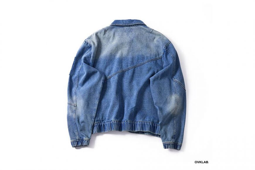 OVKLAB 18 AW Denim Flight Jacket (11)