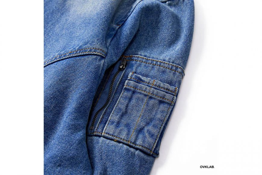 OVKLAB 18 AW Denim Flight Jacket (13)