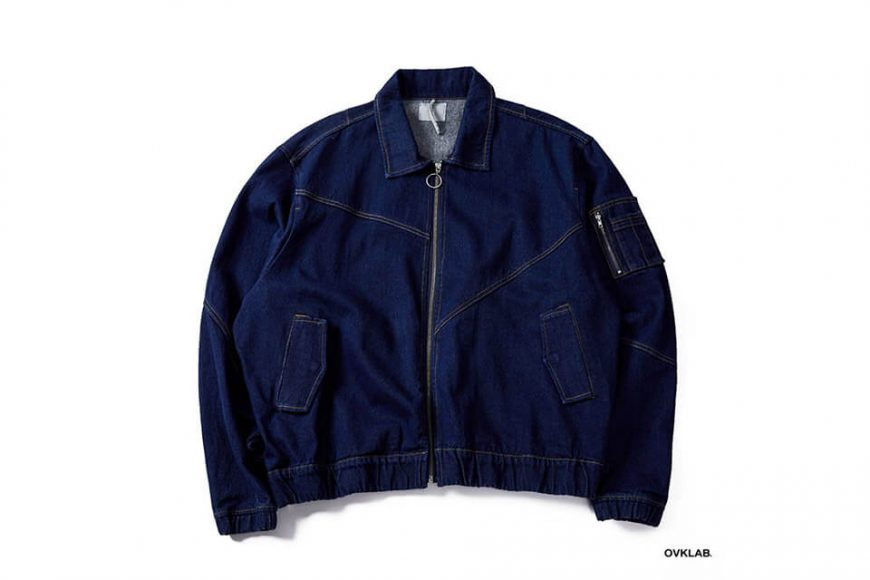 OVKLAB 18 AW Denim Flight Jacket (16)