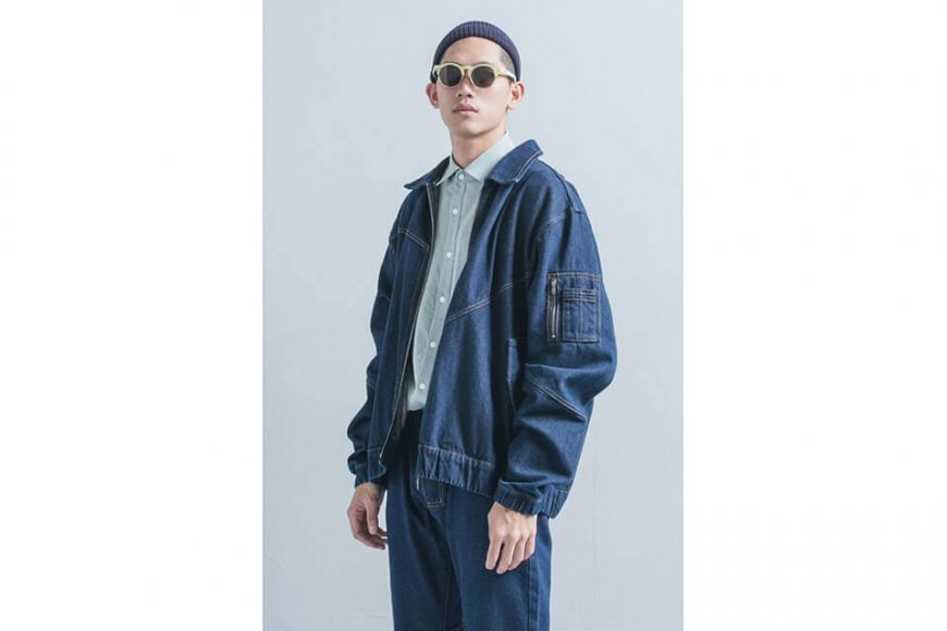 OVKLAB 18 AW Denim Flight Jacket (2)