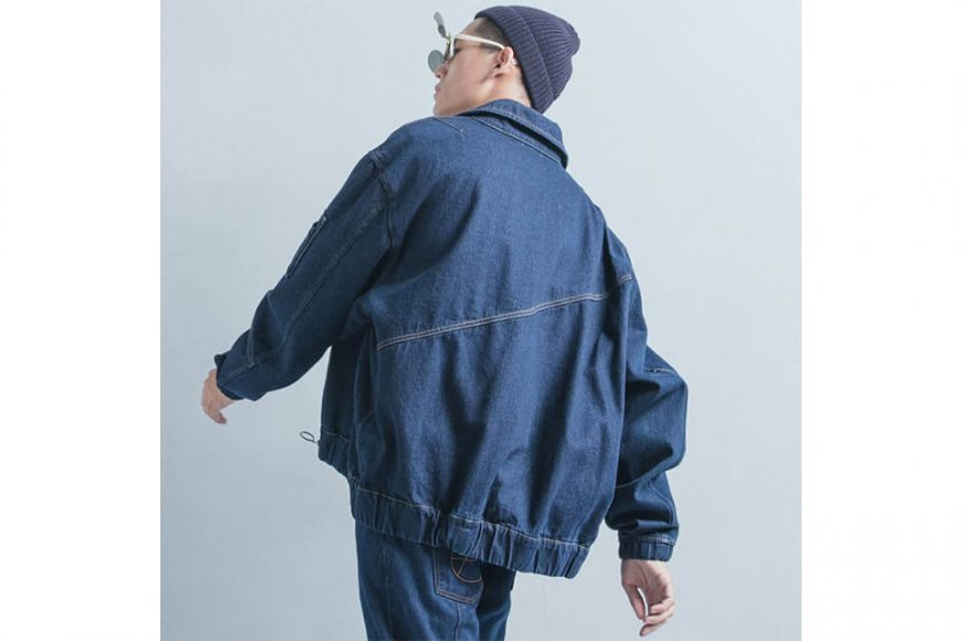 OVKLAB 18 AW Denim Flight Jacket (3)