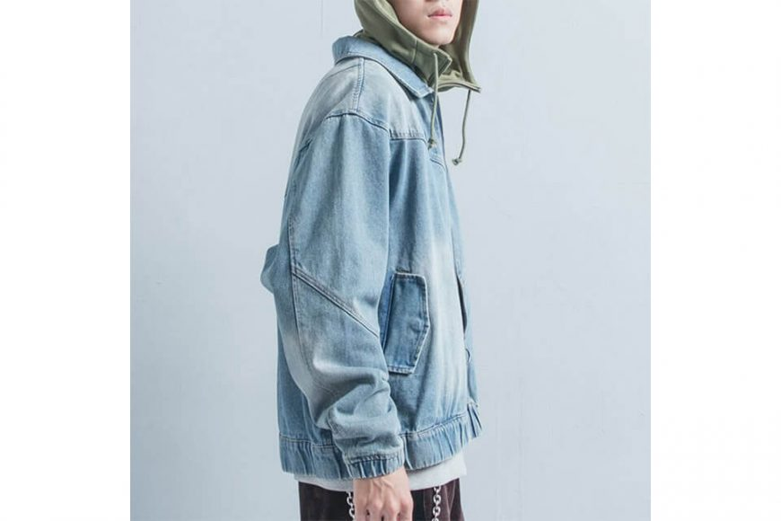 OVKLAB 18 AW Denim Flight Jacket (6)