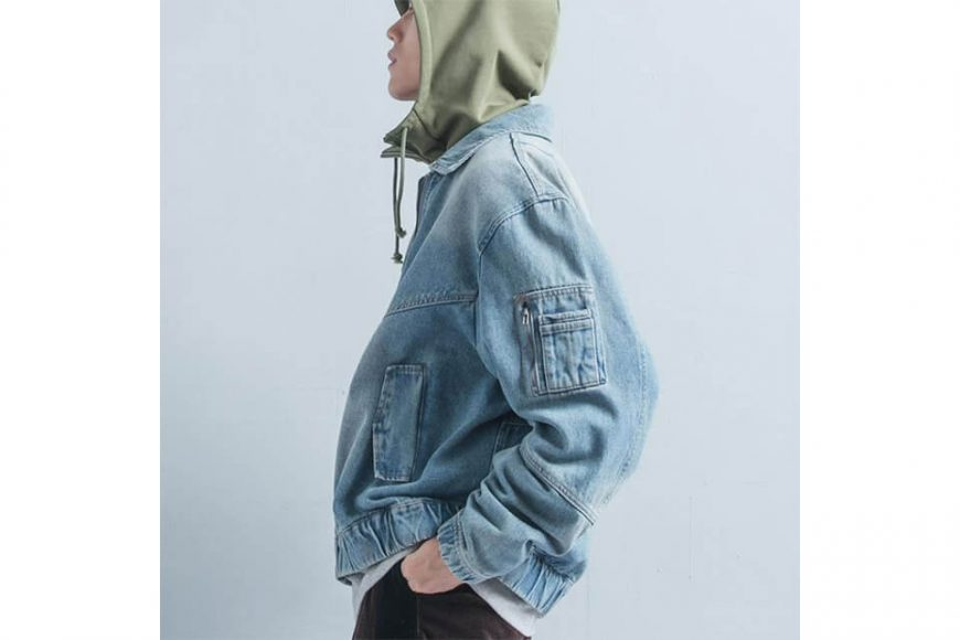 OVKLAB 18 AW Denim Flight Jacket (7)