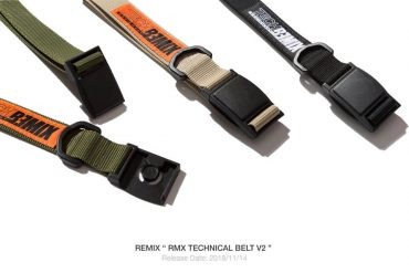 REMIX 1114(三)發售 18 AW RMX Technical Belt V2 (1)