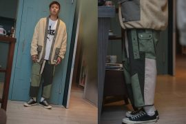 AES 1215(六)發售 18 AW Aes Stitched Pants (1)