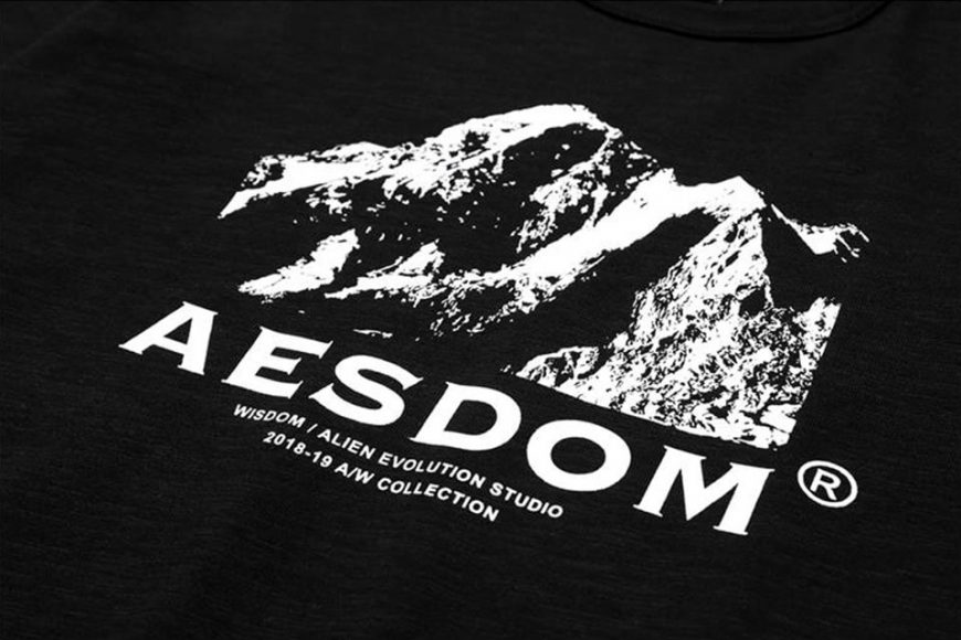 AES 1222(六)發售 18 AW Aesdom Mountain Tee (5)