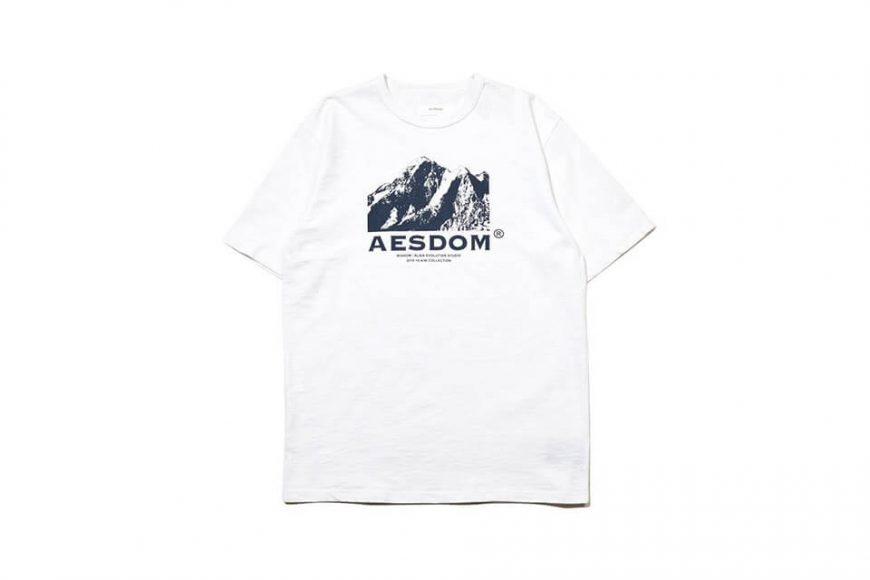 AES 1222(六)發售 18 AW Aesdom Mountain Tee (7)