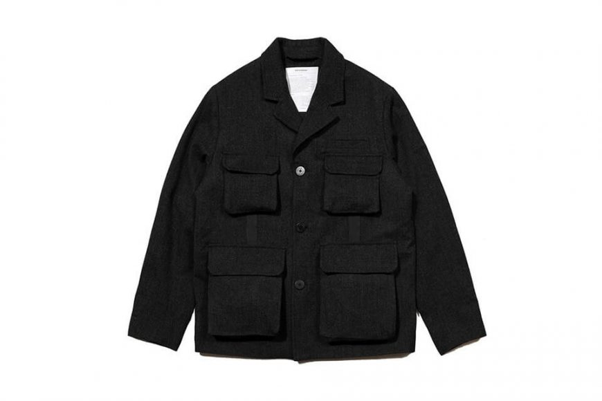 AES 1222(六)發售 18 AW Aesdom Mountain Wool Blazer (2)