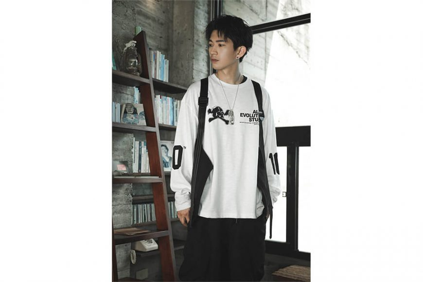 AES 128(六)發售 18 AW Aes Skull LS Tee (1)