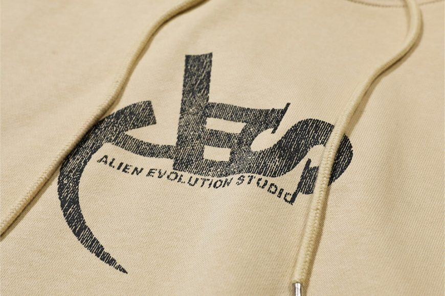 AES 128(六)發售 18 AW Aes Washed Logo Hoodie (11)