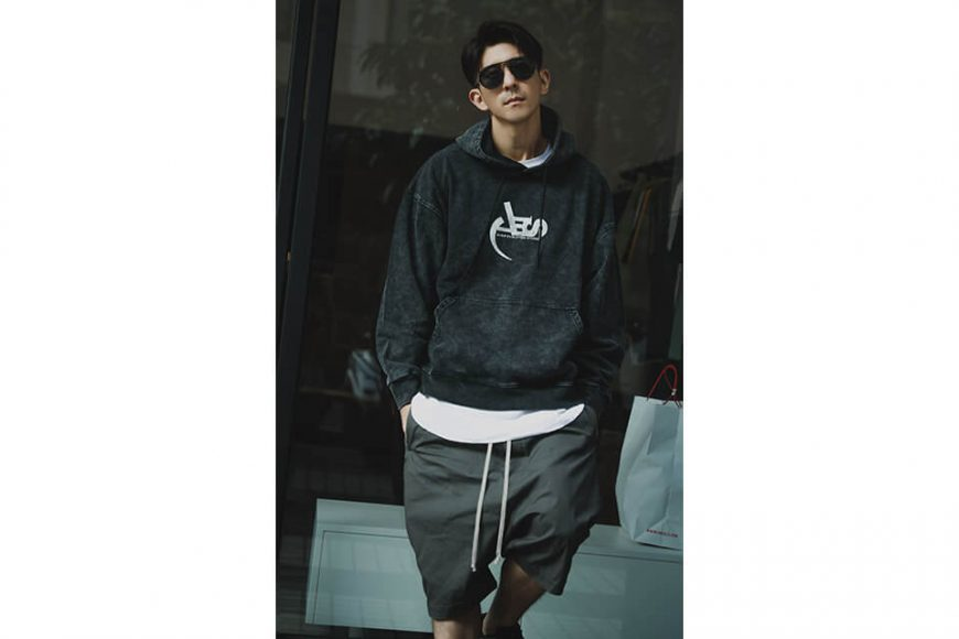 AES 128(六)發售 18 AW Aes Washed Logo Hoodie (2)