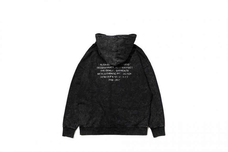 AES 128(六)發售 18 AW Aes Washed Logo Hoodie (6)