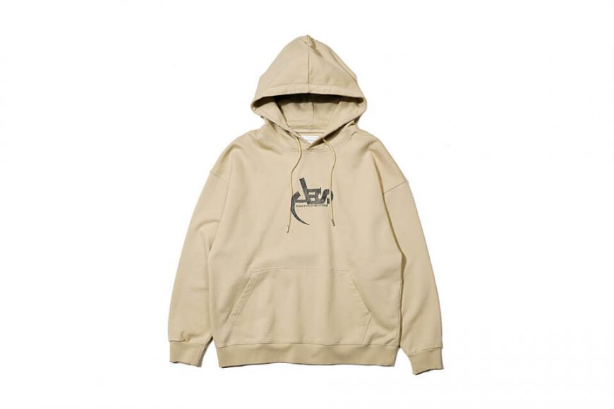 AES 128(六)發售 18 AW Aes Washed Logo Hoodie (9)