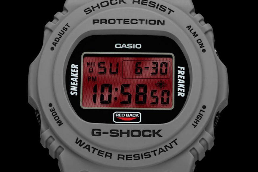 CASIO G-SHOCK x Sneaker Freaker x STANCE DW-5700SF-1DR (10)