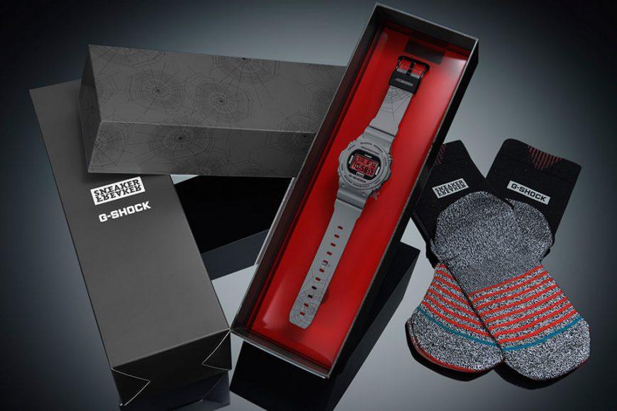 CASIO G-SHOCK x Sneaker Freaker x STANCE DW-5700SF-1DR (4)
