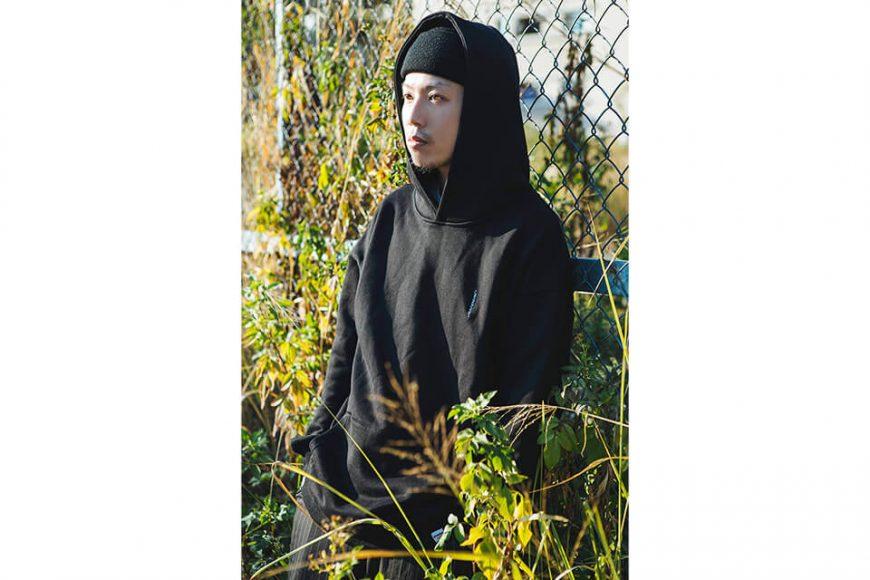 NextMobRiot 18 AW Timi Cloth OVS Hoodie (2)