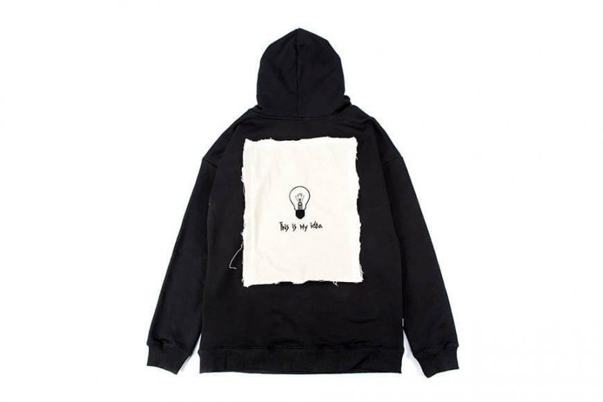 NextMobRiot 18 AW Timi Cloth OVS Hoodie (8)