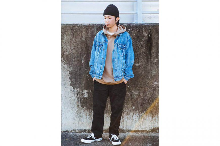 NextMobRiot 18 AW Yolo Hard Washed Denim Jacket (1)
