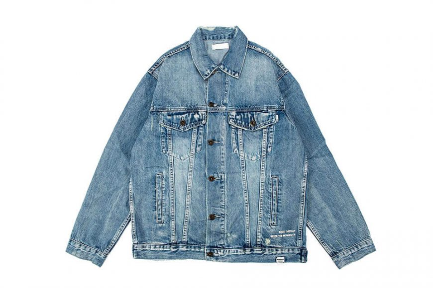 NextMobRiot 18 AW Yolo Hard Washed Denim Jacket (9)