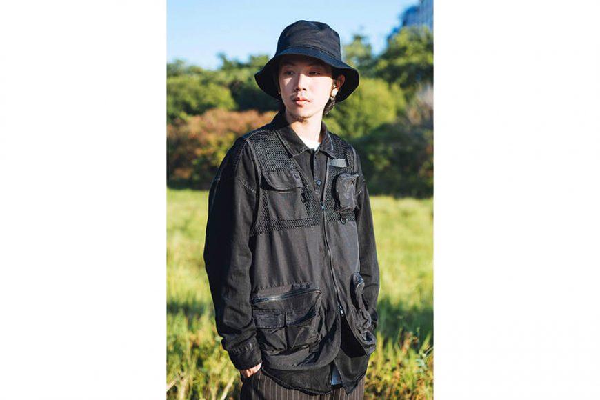 NextMobRiot 18 AW Yolo Mesh Cargo Vest (2)