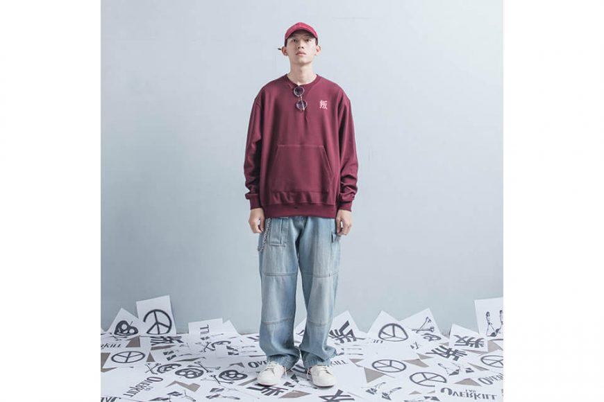 OVKLAB 1226(三)發售 18 AW Damage Sweatshirt (1)