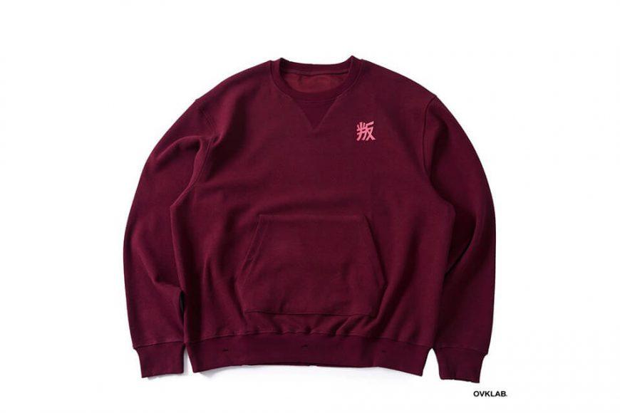 OVKLAB 1226(三)發售 18 AW Damage Sweatshirt (11)