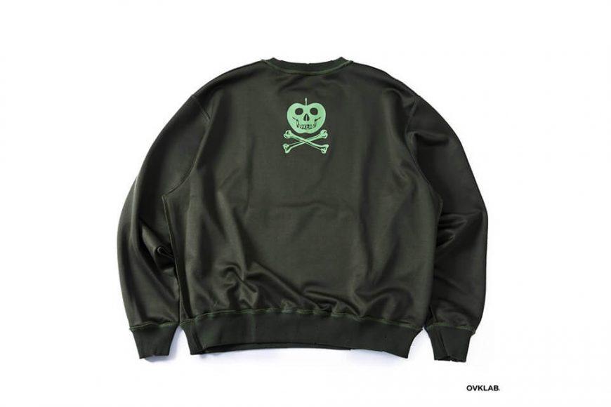 OVKLAB 1226(三)發售 18 AW Damage Sweatshirt (16)