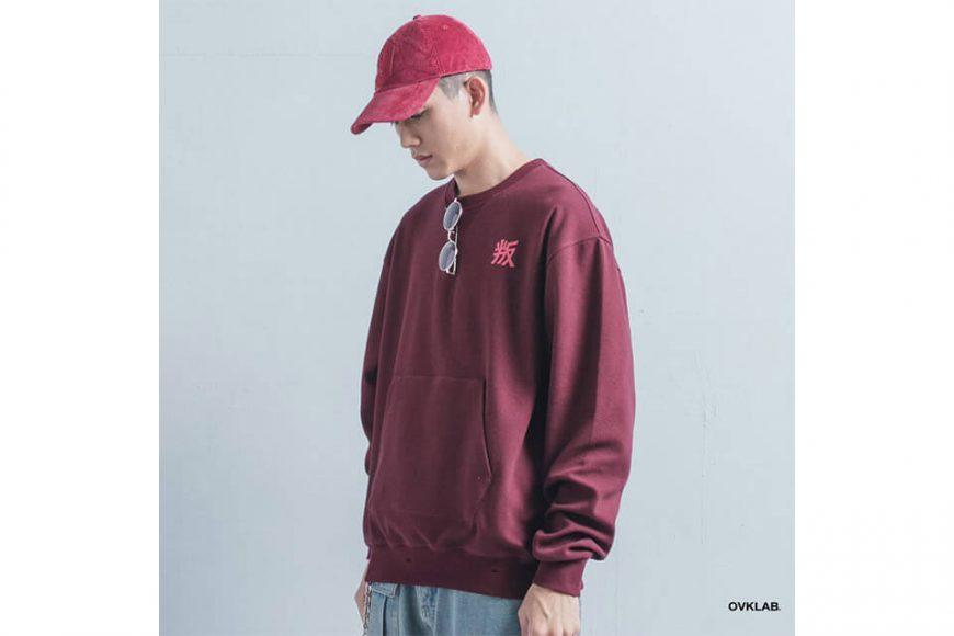 OVKLAB 1226(三)發售 18 AW Damage Sweatshirt (2)