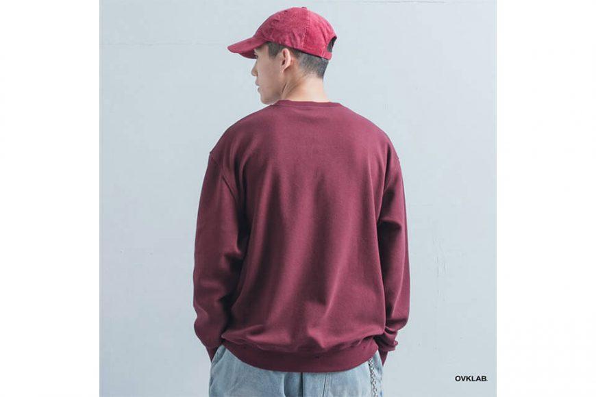 OVKLAB 1226(三)發售 18 AW Damage Sweatshirt (3)