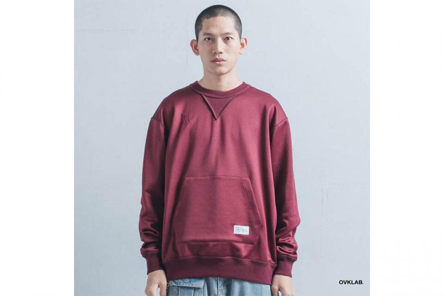OVKLAB 1226(三)發售 18 AW Damage Sweatshirt (4)