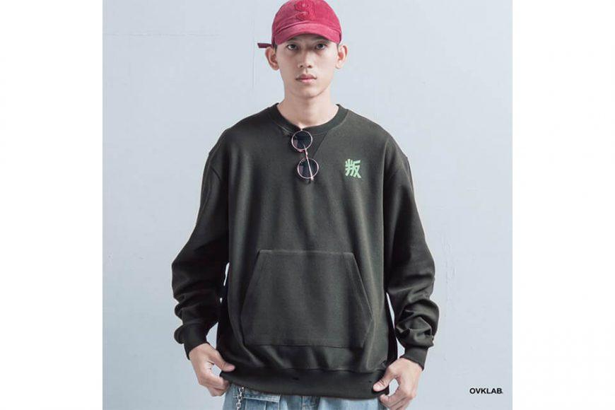 OVKLAB 1226(三)發售 18 AW Damage Sweatshirt (7)